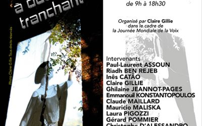 8e colloque Voix & Psychanalyse