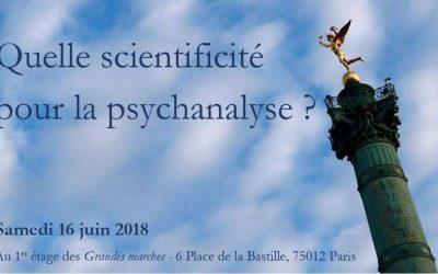 Quelle scientificité pour la psychanalyse ?